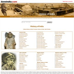 History of India - Indian History, India History, Concise History of India, Brief History of India