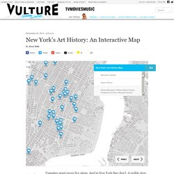 New York's Art History: An Interactive Map