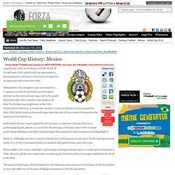 World Cup History: Mexico