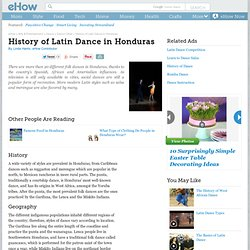 Hondurans  Introduction Location Language Folklore