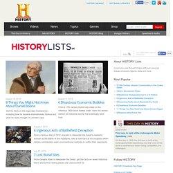 HISTORY Lists