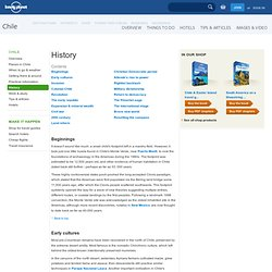 History of Chile - Lonely Planet Travel Information