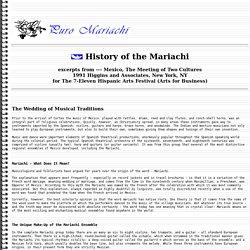 History of the Mariachi