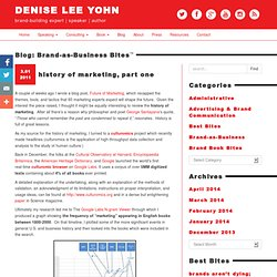 denise lee yohn: brand as business bites™