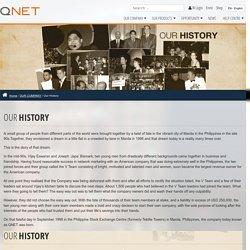 History & Milestones