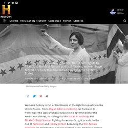 Women's History Milestones: A Timeline