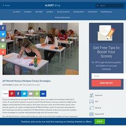 AP World History Multiple Choice Strategies