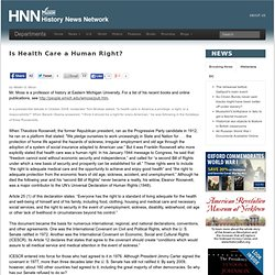 right to health care essay Health care right or privilege essay however i do think that everyone should have to pay at least something for the care they receive i think that is required to.