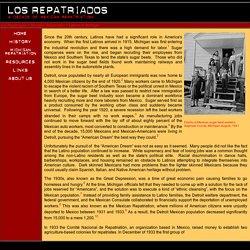 History of Latinos in Michigan