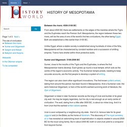 HISTORY OF MESOPOTAMIA