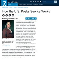 History of the USPS