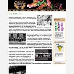 History of Mardi Gras Parades