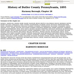 History of Butler County Pennsylvania, 1895x28