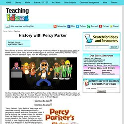 History with Percy Parker