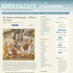 The History of Philosophy … Without Any Gaps