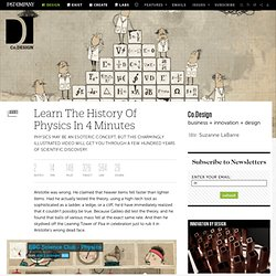 Learn The History Of Physics In 4 Minutes