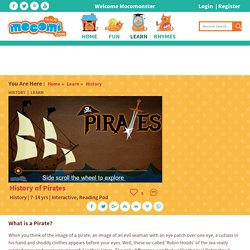 History of Pirates and Fun Facts - History for Kids
