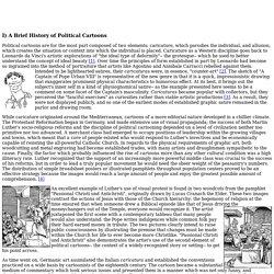 Part I: A Brief History of Political Cartoons
