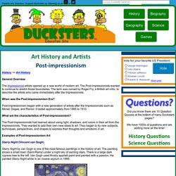 History: Post-impressionism Art for Kids