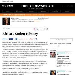 Africa's Stolen History - Juliet Torome