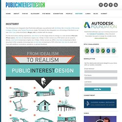 INFOGRAPHIC | Public Interest Design