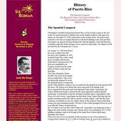 History of Puerto Rico I