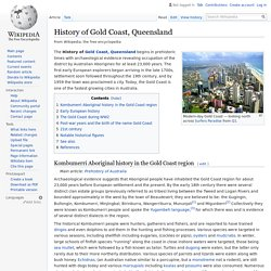 History of Gold Coast, Queensland - Wikipedia