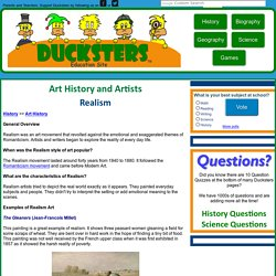 History: Realism Art