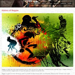 History of Reggae