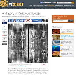 Anti-Muslim Film, Shroud of Turin & Elders of Zion