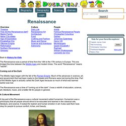 History: Renaissance for Kids