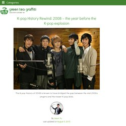 K-pop History Rewind 2008