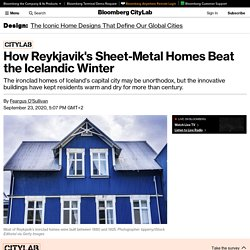 The History of Reykjavik's Iron and Wood Homes