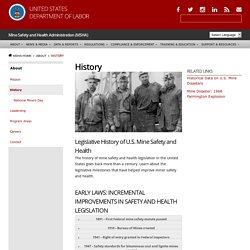 Mine Safety and Health Administration (MSHA)