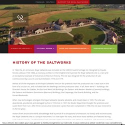 The history of the saltworks - Saline royale d'Arc-et-Senans