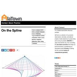History of the Spline Computational Curve and Design