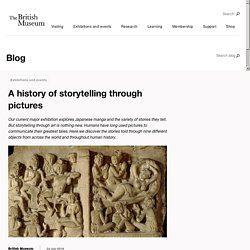 A history of storytelling through pictures