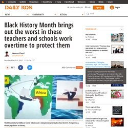 Black History Month brings out the worst in these teachers and schools work overtime to protect them