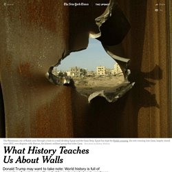 What History Teaches Us About Walls