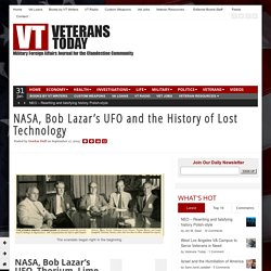 NASA, Bob Lazar's UFO and the History of Lost Technology