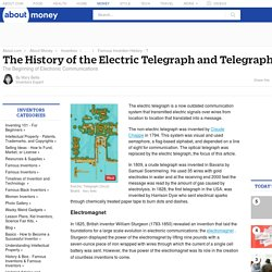 The History of the Telegraph - Samuel Morse