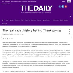 The real, racist history behind Thanksgiving