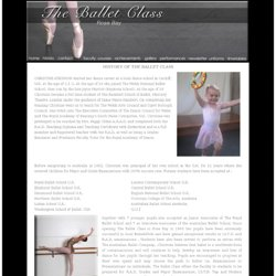 History of The Ballet Class