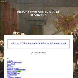 History : The USA