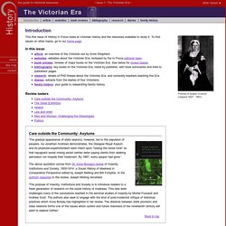 History in Focus: The Victorian Era (Introduction)