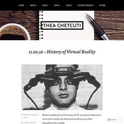 11.02.16 – History of Virtual Reality – Thea Chetcuti
