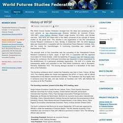 History of WFSF
