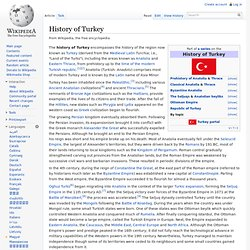 a background of the inhabited region of anatolia Lovers of antiquity and the classical world know very well that asia minor–modern turkey–was formerly inhabited by a variety of non-turkic peoples.