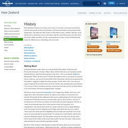 History of New Zealand - Lonely Planet Travel Information