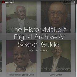 The HistoryMakers Digital Archive (Rosiris)
